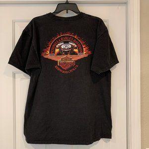 Peninsula Harley Davidson Redwood City CA Tee XL